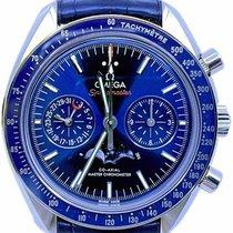 Omega Speedmaster Professional Moonwatch Moonphase Acero 44.2mm Azul Sin cifras
