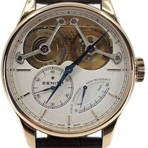 Zenith Academy Rose gold 45mm White No numerals United States of America, Florida