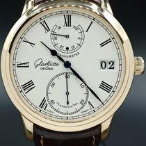 Glashütte Original Senator Chronometer Yellow gold 42mm White Roman numerals