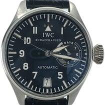 IWC 플라티늄 자동 검정색 숫자없음 46mm 빅 파일럿