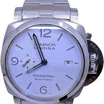 Panerai Luminor Marina подержанные 44mm Белый Дата Сталь