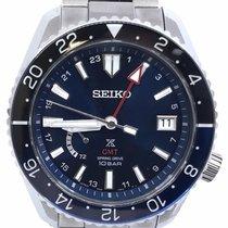 Seiko Prospex Титан 44.8mm Синий Без цифр