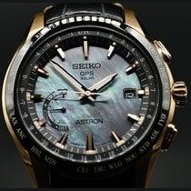 Seiko Astron GPS Solar Chronograph Stahl 44.8mm Keine Ziffern