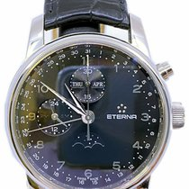 Eterna pre-owned Automatic 42mm Black Sapphire crystal 5 ATM