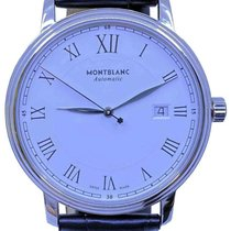Montblanc Tradition Steel 40mm White Roman numerals United States of America, Florida, Naples