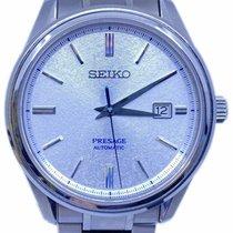 Seiko Presage Steel 40.7mm Silver No numerals United States of America, Florida