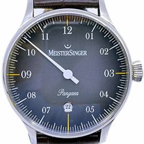 Meistersinger new Automatic 40mm Steel Sapphire crystal