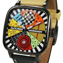 Alexander Shorokhoff new Automatic Limited Edition PVD/DLC coating 41mm Steel Sapphire crystal