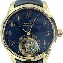 Ulysse Nardin Classic Ulysse Anchor Tourbillon Rose gold 44mm Blue Arabic numerals United States of America, Florida, Naples