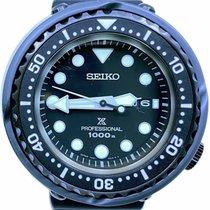 Seiko Prospex 47mm Черный Без цифр