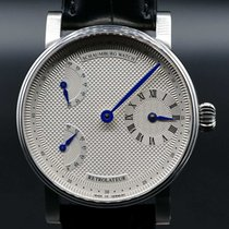Schaumburg pre-owned Manual winding 42mm Silver Sapphire crystal 5 ATM