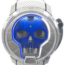 HYT Titanium Manual winding Blue 48.8mm new Skull