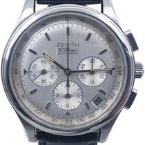 Zenith El Primero Chronograph Steel 40mm Silver Arabic numerals United States of America, Florida