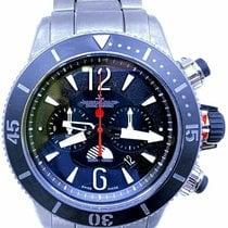 Jaeger-LeCoultre Master Compressor Diving Chronograph GMT Navy SEALs Titanium 46mm Black No numerals United States of America, Florida