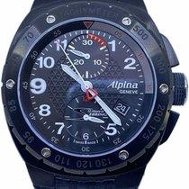 Alpina Racing Сталь 47mm Черный Aрабские