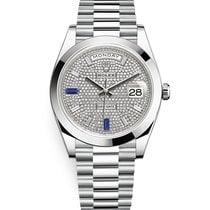 Rolex Day-Date 40 Platinum 40mm Transparent Roman numerals United States of America, Pennsylvania, Philadelphia