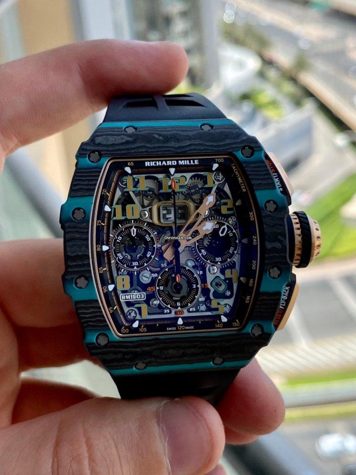 Richard Mille RM 011 RM 11-03 Ultimate edition 2021 новые