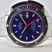 Edox pre-owned Automatic 46mm Blue Sapphire crystal 50 ATM