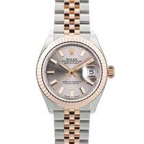 Rolex Lady-Datejust Gold/Steel 28mm Pink