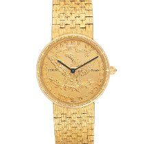 Corum Coin Watch Oro amarillo 28mm