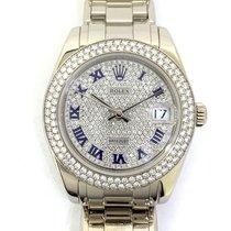 Rolex Pearlmaster Oro blanco