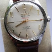 Atlantic pre-owned Manual winding 38mm Mineral Glass Not water resistant