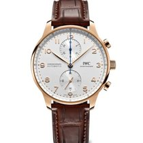 IWC Portuguese Chronograph new Automatic Chronograph Watch with original box and original papers IW371611