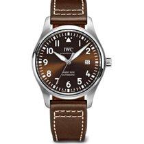 IWC Pilot Mark Steel 43mm Brown Arabic numerals United States of America, New York, New York