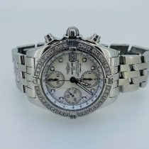 Breitling Chrono Cockpit Steel Mother of pearl No numerals
