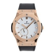 Hublot Classic Fusion Ultra-Thin Red gold 45mm White
