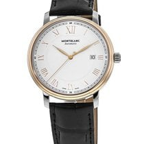 Montblanc Tradition Steel Gold Roman numerals United States of America, New York, Brooklyn