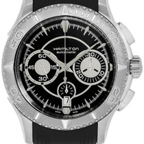 Hamilton Jazzmaster Seaview new Automatic Chronograph Watch with original box and original papers H37616331 H37616331