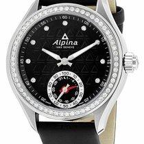 Alpina Horological Smartwatch Сталь 39mm Черный
