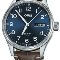 Oris Big Crown ProPilot Day Date Steel 45mm Blue Arabic numerals United States of America, New York, Monsey