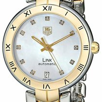 TAG Heuer Link Lady Gold/Steel 34.5mm Mother of pearl United States of America, New York, Monsey