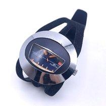 포티스 플라스틱 수동감기 파란색 숫자없음 42mm 중고시계