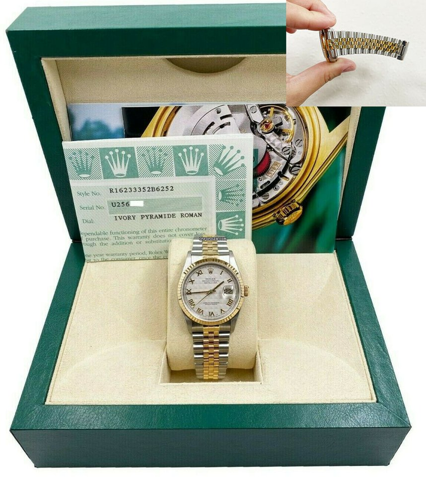 Rolex Datejust 1997 pre-owned