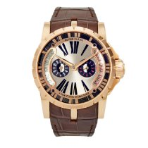 Roger Dubuis Excalibur Rose gold 45mm Silver United States of America, Texas, Plano