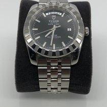 Tudor Classic Steel 41mm Black No numerals United States of America, New Jersey, Wayne