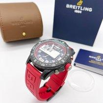 Breitling Palladium Quartz Black Arabic numerals 44mm new Endurance Pro