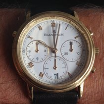 Blancpain Villeret 1186 Very good Yellow gold Automatic