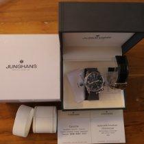 Junghans Aerious Chronoscope Acél 46mm Fekete Arab