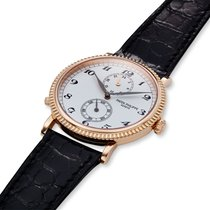 Patek Philippe Travel Time Rose gold 34mm Silver