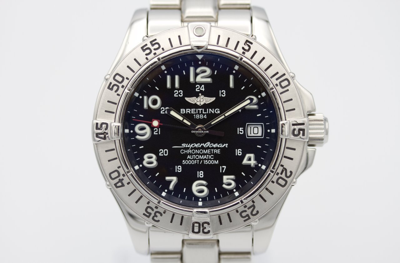 Breitling Superocean A17360-108 pre-owned