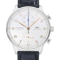 IWC (アイ・ダブリュー・シー) ポルトギーゼ クロノグラフ 新品 自動巻き 正規のボックスと正規の書類付属の時計 IW371604