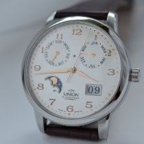 Union Glashütte new Automatic Display back Central seconds 39mm Steel Sapphire crystal