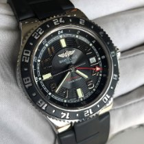 Breitling Superocean GMT Steel 41mm Black Arabic numerals United States of America, Texas, Frisco