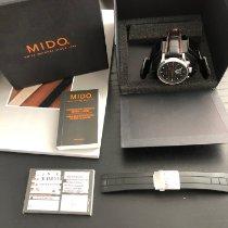 Mido Multifort Chronograph Steel 44mm Silver No numerals United States of America, Massachusetts, Cambridge
