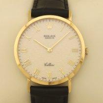 Rolex Žluté zlato 32mm Ruční natahování 4112 použité