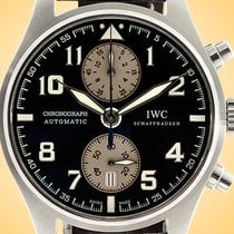 IWC Pilot Spitfire Chronograph Steel 43mm Brown United States of America, Illinois, Northfield